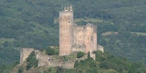 Les plus beaux châteaux de France: Najac dans l'Aveyron | L'info tourisme en Aveyron | Scoop.it