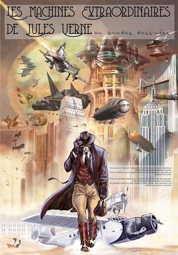 Exposition : Les machines extraordinaires de Jules Verne en BD | Jules Verne News | Scoop.it
