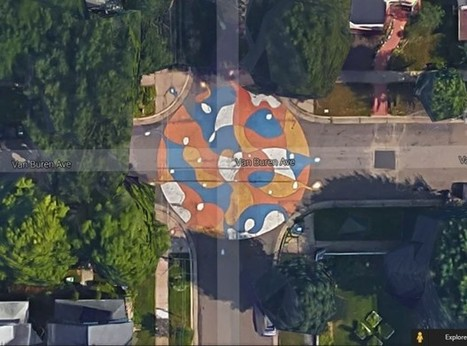 Just How Well Do Street Murals Calm Traffic? | Sustainable Futures | Scoop.it