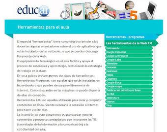 """""""Las TIC en la Educación"""": Tecnovedades: Herramientas para el aula.   Educación a Distancia y TIC   Scoop.it"""