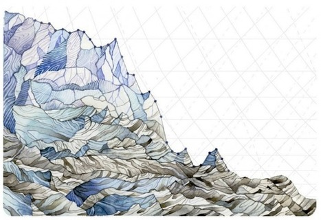 Artist turns climate data into striking paintings | Climate change and the arts | Scoop.it