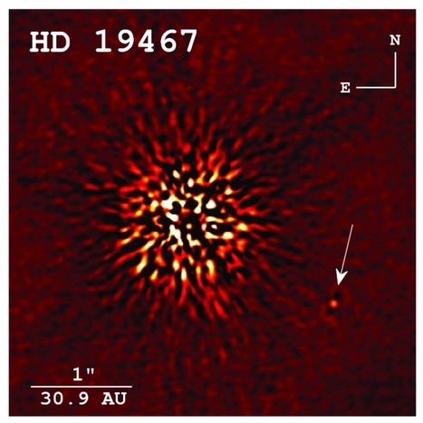 Scientists directly image brown dwarf for the first time at Keck ... | Astronomy Education | Scoop.it