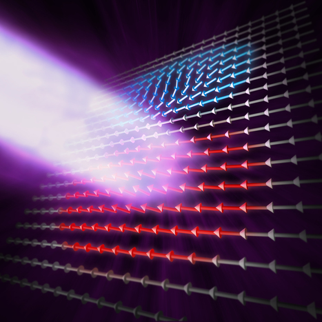 "Physics First: Magnetic Wave ""Soliton"" Revealed with X-Ray Microscope 