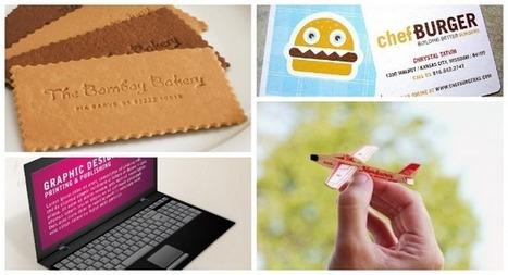 20 tarjetas de visita creativas | Seo y Marketing | Scoop.it