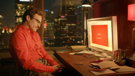 Robot love: Spike Jonze's new sci-fi film 'Her' may be closer to reality than you think | Robohub | Robotics | Scoop.it