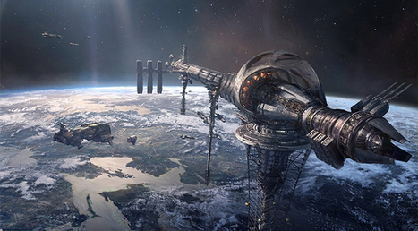 60,000 miles up: Space elevator could be built by 2035, new study says | Good news from the Stars | Scoop.it