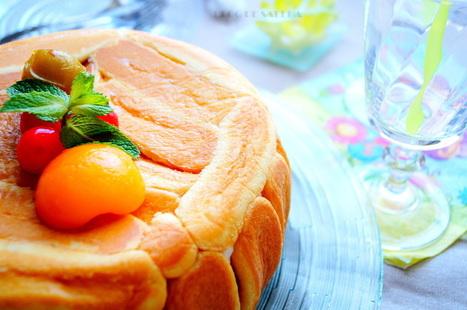 Charlotte aux fruits au sirop & au mascarpone | Recette Dessert Gâteau & Cake | Scoop.it