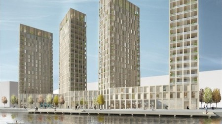 Sweden: Wooden high-rise planned for Stockholm | Adam Williams | GizMag.com | 911 | Scoop.it