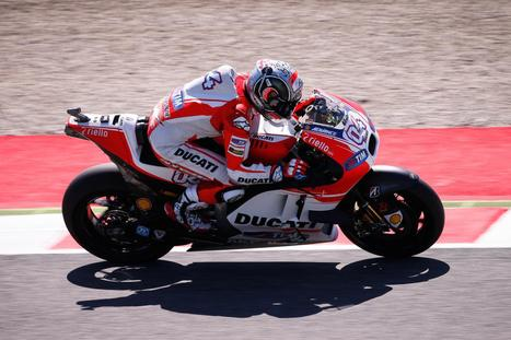 Dovizioso ends FP2 on top at #ItalianGP | Ductalk Ducati News | Scoop.it