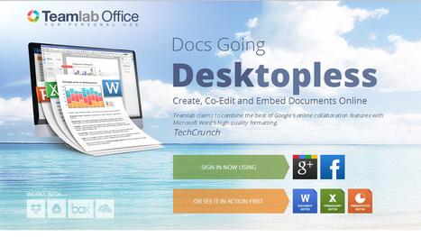Teamlab Office solves file formatting problems - Muktware | Using Google Drive in the classroom | Scoop.it