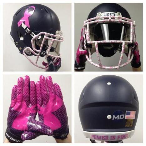 "Toledo Unveils New ""Power In Pink"" Helmets And Gloves For Northern Illinois Game - Front Page Buzz 
