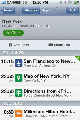 10 applications utiles pour le voyageur, touriste ou professionnel | Technologie Au Quotidien | Scoop.it