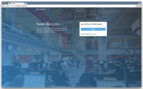 Twitter kills TweetDeck for Windows, automates logins for TweetDeckusers | Social Media and Digital Publishing | Scoop.it
