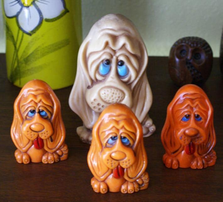Vintage Kitsch Big Eyed Dogs | Kitsch | Scoop.it