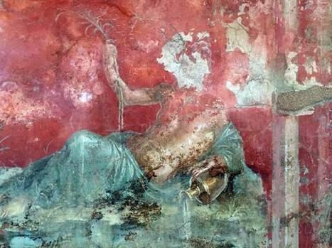 Pompeya: Cruceristas franceses sorprendidos mientras robaban fragmentos de frescos | Mundo Clásico | Scoop.it