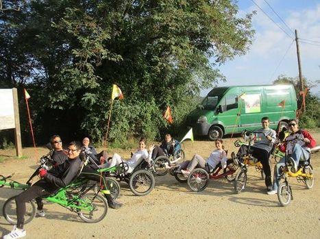 Vida Bike: Para celebrar el día sin coches, nada mejor que una ruta en bici reclinada y trikes, bajando desde Collserola al río Besòs. | Bici reclinada - Recumbent bike - Vélo couché | Scoop.it