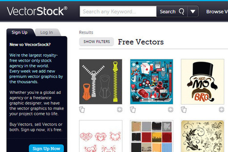 10 Exceptional Resources to Download Free Vectors | DJDESIGNERLAB | Curation Education & Design | Scoop.it