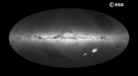 Galactic Census: 1 Billion Stars Mapped by Gaia Satellite | Communication design | Scoop.it