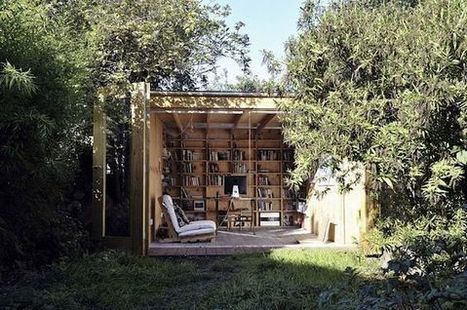 10 Gorgeous Outdoor Reading Nooks | All Things Bookish: All about books, all the time | Scoop.it