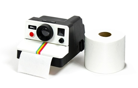 POLAROLL: Retro Polaroid Toilet Paper Holder by doiy | Premium WordPress Themes | Scoop.it