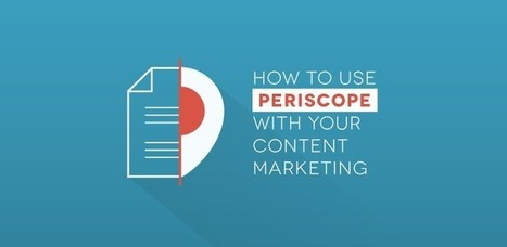 How to Use Periscope with Your Content Marketing | Social Media and Mobile Websites | Scoop.it