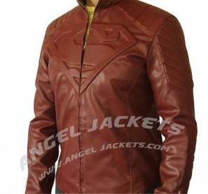 Superman Smallville Jacket | clark kent  smallville red leather shield jacket clothes worn smallville | Scoop.it