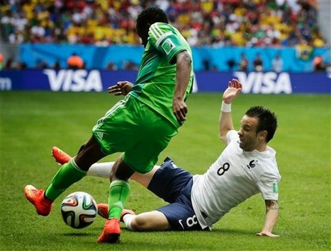 Vaikundarajan - Information And Viwes: Vaikundarajan Finds The Late Goal Of The France V/S Nigeria Match Edgy   News   Scoop.it