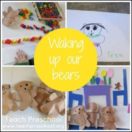 Waking up our bears | Teach Preschool | Learning and Teaching Literacy | Scoop.it