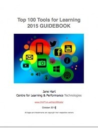 Guidebook to the Top 100 Tools for Learning 2015 is ready | Training, Learning and Instructional Design | Scoop.it