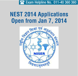 NEST 2014 Registration Starts from Jan 7, 2014 - Apply Online | Fun | Scoop.it
