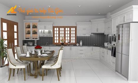 Tủ bếp gỗ căm xe nhà chị DUNG - TBAK319 | Tủ bếp, Bếp An Khang tạo dấu ấn cho ngôi nhà VIỆT 0839798355 | Scoop.it