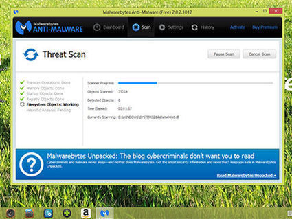 Malwarebytes Anti-Malware Free 2014 Review - Tom's Guide | IT-manager's Life | Scoop.it