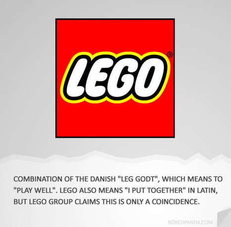 How 27 Iconic Brands Got Their Names & Logos | Brand Marketing & Branding | Scoop.it
