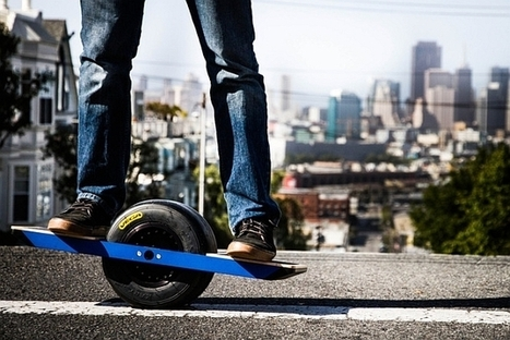 Onewheel is a self-balancing single-wheeled electric skateboard (video) | iPad Accessories that work | Scoop.it