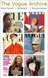 Vogue Archive at WKU Libraries | WKU Libraries Blog | marketing electronic resources | Scoop.it