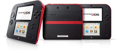 Nintendo 2DS : Vidéo de cette nouvelle console portable différente de la 3DS | Geeks | Scoop.it