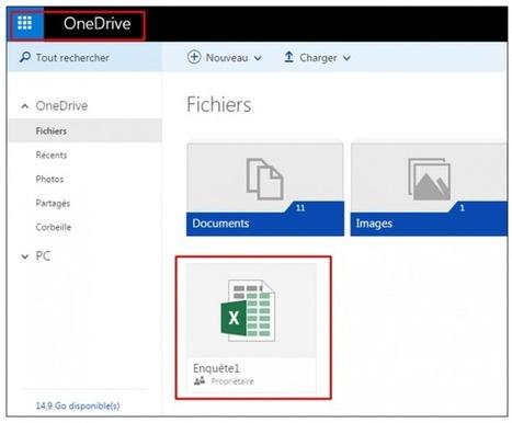Tutoriel créer un formulaire en ligne avec OneDrive et Excel | Outils 2.0 | Scoop.it