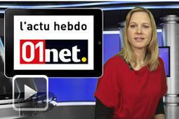 Le JT de 01net, l'essentiel de l'actu high tech hebdo en vidéo | Contrôle de gestion & Système d'Information | Scoop.it