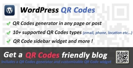 QR Codes for WordPress | My Best Wordpress Plugins | Scoop.it