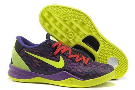 Kobe Bryant System 8(VIII) Lime Green/Purple Shoes Men | popular list | Scoop.it