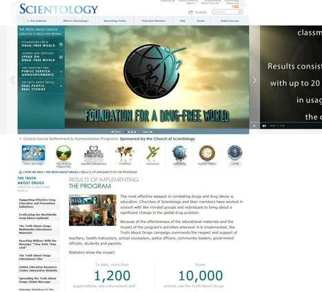 Scientology group offers anti-drug help to city schools | this curious life | Scoop.it