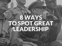 8 Ways To Spot Great Leadership | Gestion du talent | Scoop.it