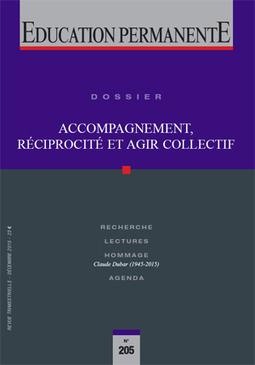 Education permanente 205 | Accompagner : théories et pratiques de l'accompagnement professionnel | Scoop.it