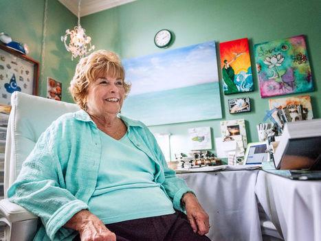 Art is her respite from husband's Parkinson's disease   #ALS AWARENESS #LouGehrigsDisease #PARKINSONS   Scoop.it