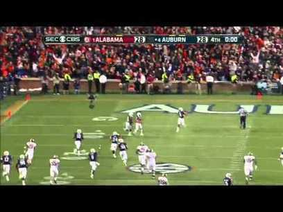 "Auburn defeats Alabama - Chris Davis returns misse | What is ""Internet Marketing?"" | Scoop.it"