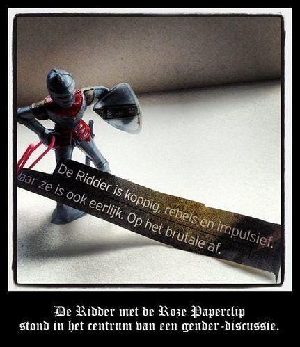 De Ridder met de Roze Paperclip (03): Een Probleem van Gender | Scriptomanen Interactief | MaliënKolder | Scoop.it