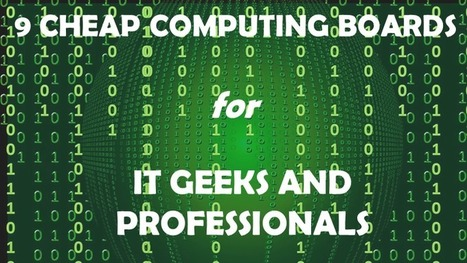 Raspberry Pi alternatives: 9 single-board computers for geeks | Raspberry Pi | Scoop.it