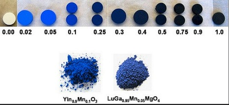 Brilliant new blue pigment discovered by accident   Amazing Science   Scoop.it