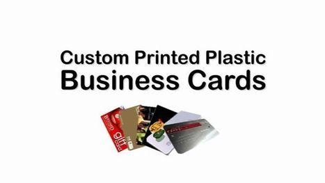 Custom Printed Plastic Cards- Pin by Allan Hall   Art & Printing   Scoop.it