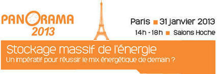 Conférence IFP Energies Nouvelles ; Stockage massif de l'énergie | Stockage de l'énergie électrique | Scoop.it